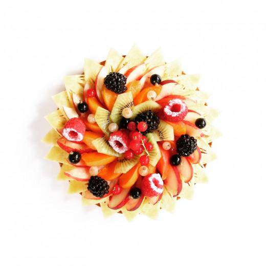 Sans conservateurs, sans additifs et sans colorants artificiels, la saveur du chocolat et des fruits frais en plus