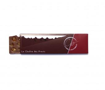 Tablette Chocolat Lait et cubes de Citrons