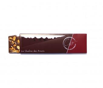 Tablette Chocolat Lait et éclats de Cacahuètes
