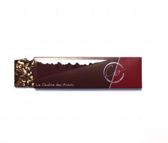 Tablette Chocolat noir et éclats de Pécan