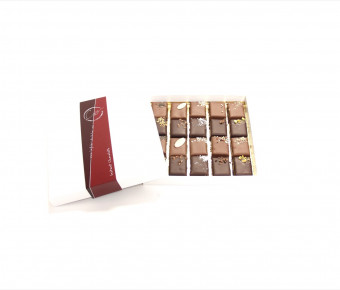 Coffret 20 chocolats pralinés