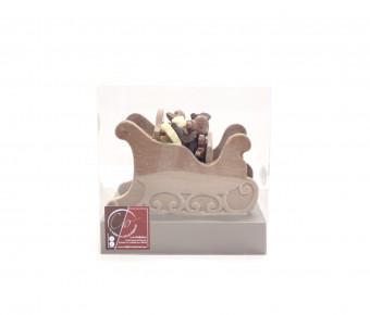 Traineau du Père Noël - Chocolat Lait 40%