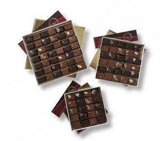 Coffret - 42 Chocolats Pralinés