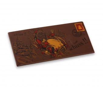 Carte postale - Chocolat Lait