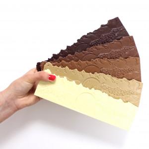 assortiment de tablette de chocolat